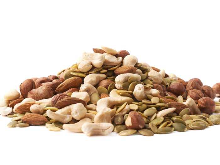 Nuts, seeds, nut butters are some of the best foods for your belly