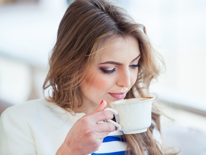 Having the jitters could be a sign that you're drinking too much coffee