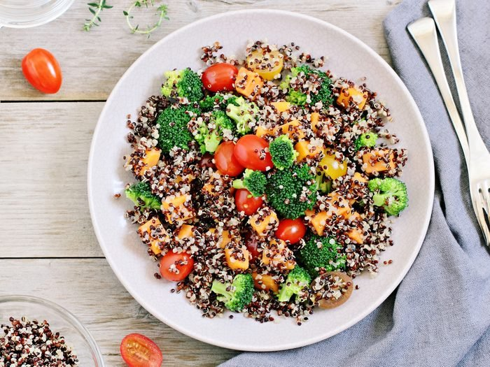An expert tip for when you become a vegan is to not worry about getting enough protein