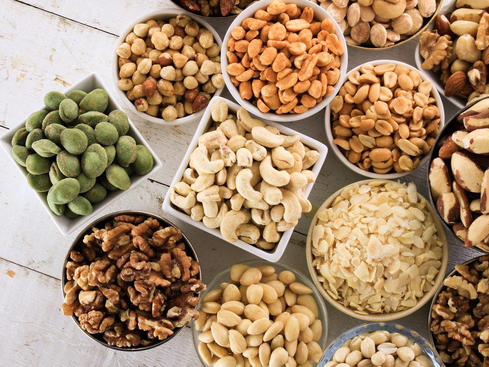 Skinny people eat nuts