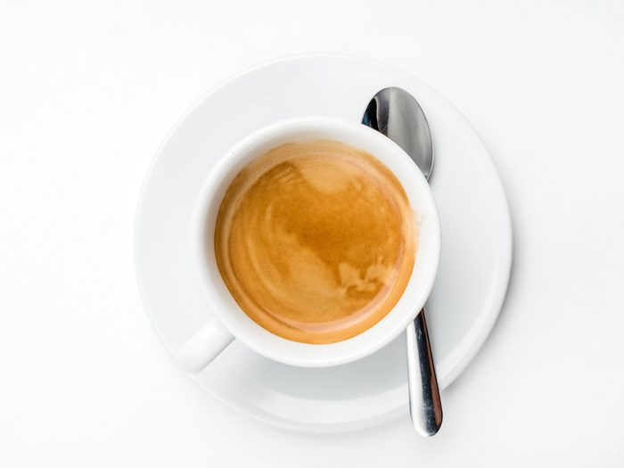 No coffee slows your metabolism
