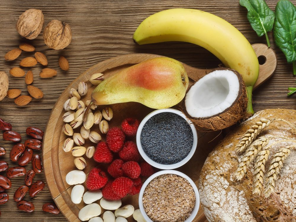 Filling up on fibre can help reduce bloating