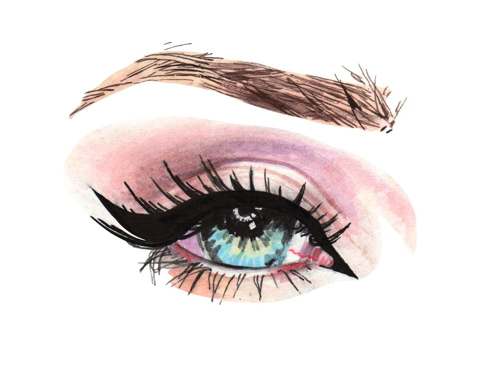 Lining the upper inner rims of your eyes with a dark waterproof colour can make you look younger