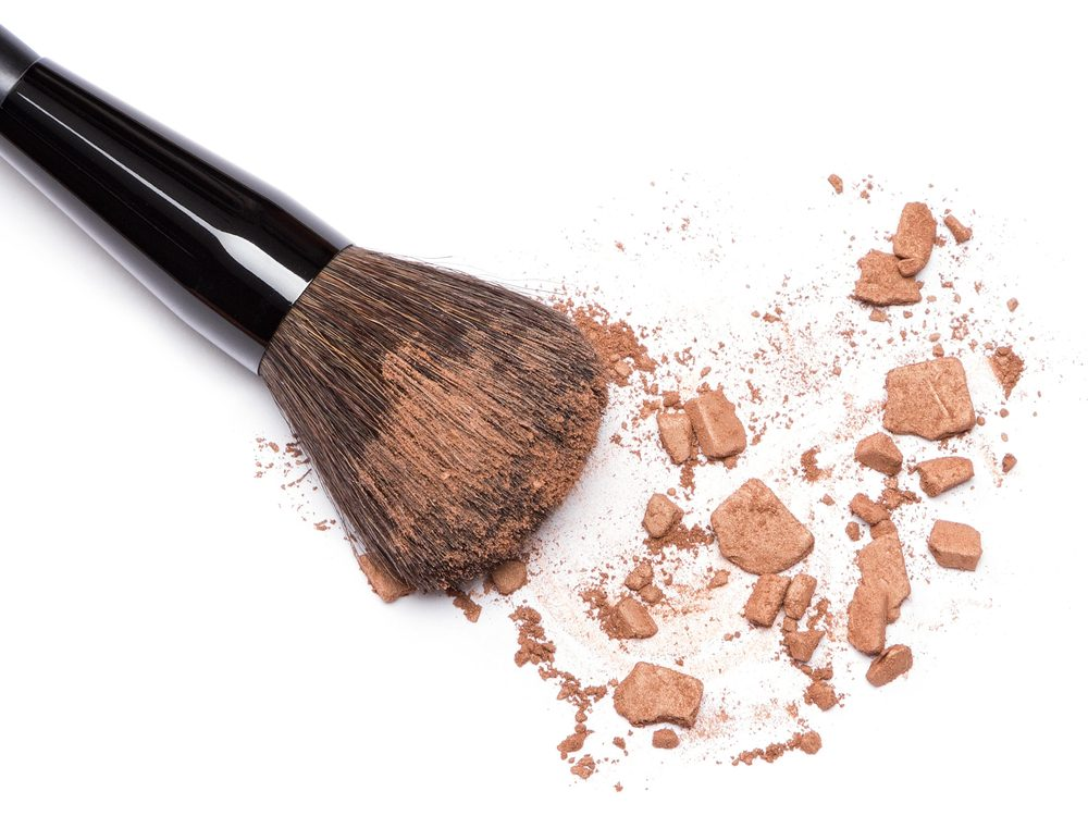 Dipping into bronzer will help you look less tired