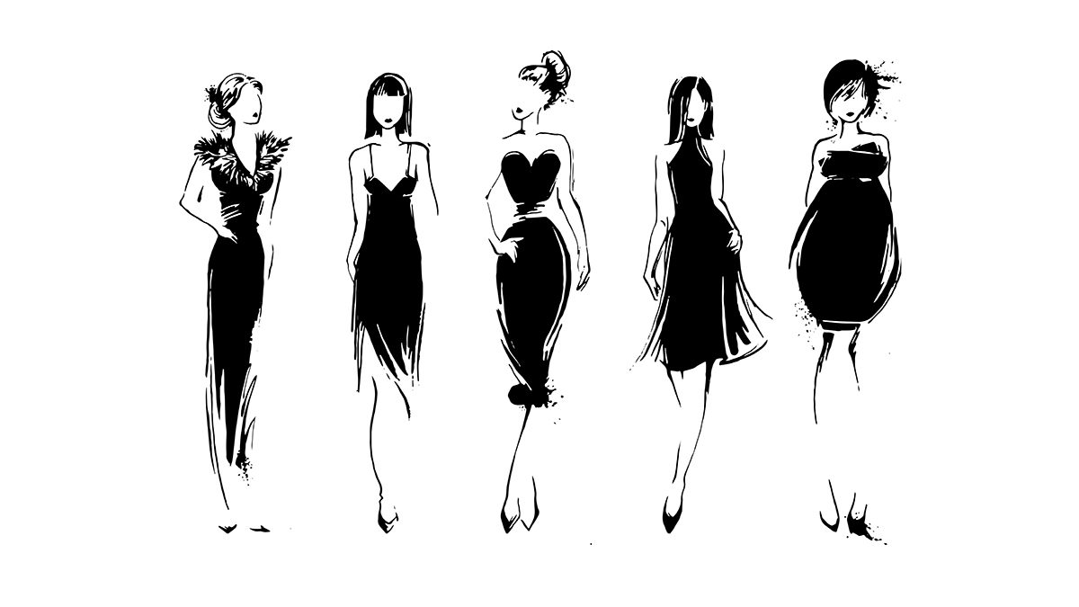 fashion illustrations of body shapes