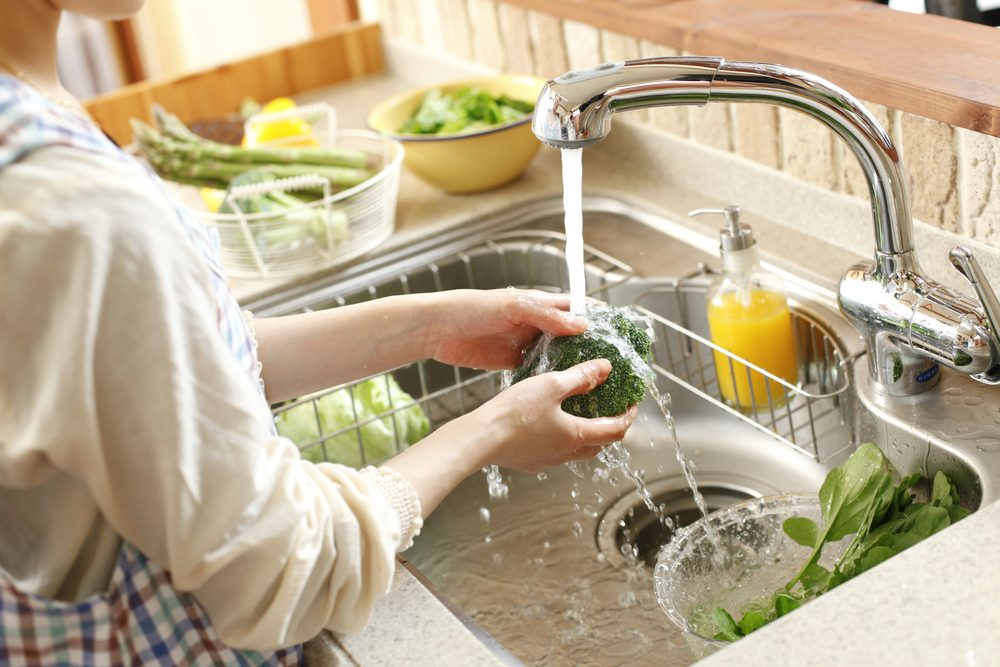 Woman Washing Broccoli_ How To Clean Fruits And Vegetables