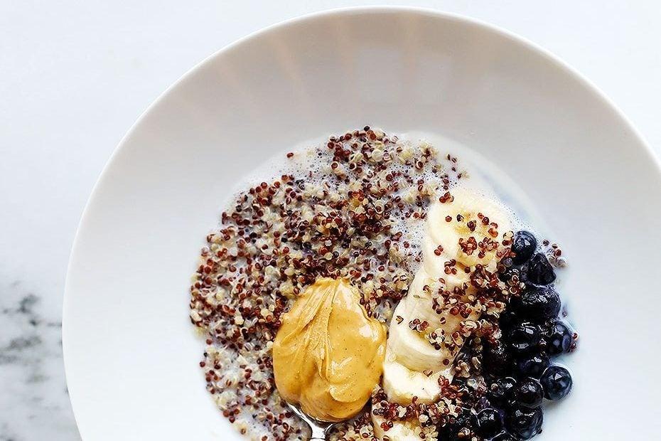 quick and easy breakfast ideas | healthy breakfast | quinoa bowl