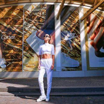 Bella Hadid Launches Nike Shoe In Paris