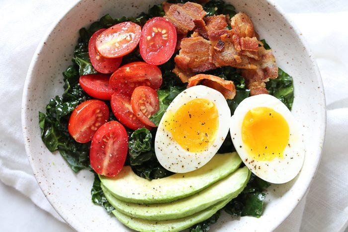 quick and easy breakfast ideas | healthy breakfast | BLT bowl