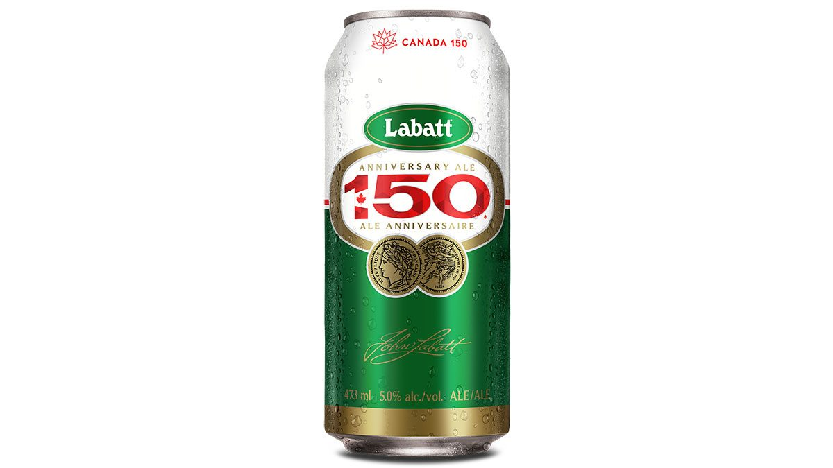 Canadiana Labatt 150, can of the beer
