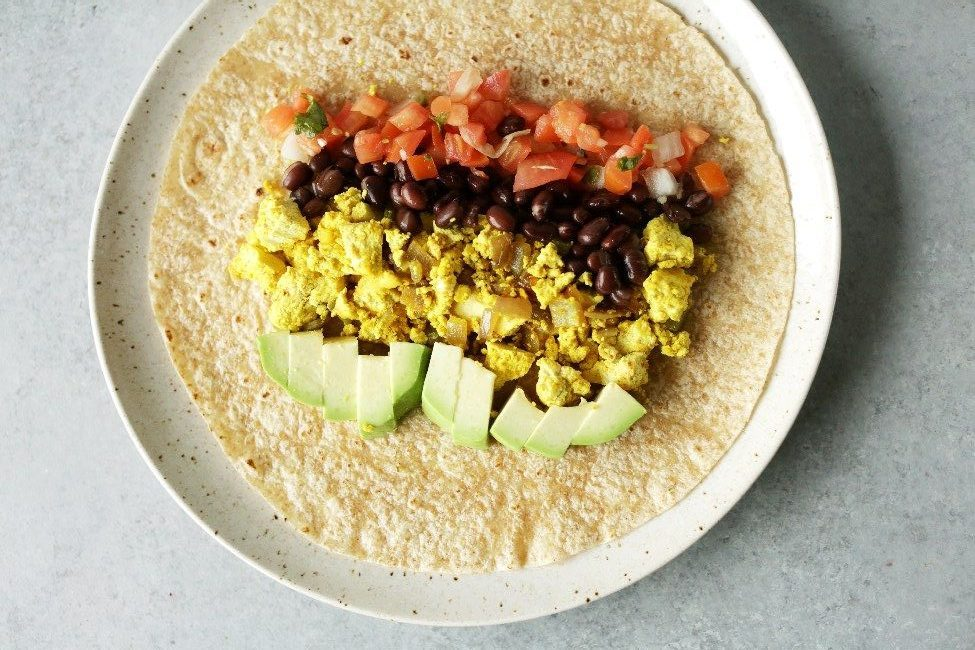 quick and easy breakfast ideas | healthy breakfast | breakfast burrito