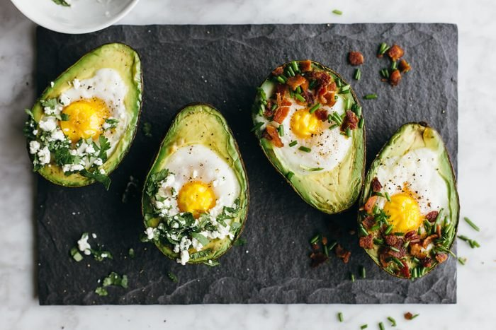 quick and easy breakfast ideas | healthy breakfast | baked avocado