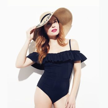 Three Flattering Swimsuits – And They're All Black!