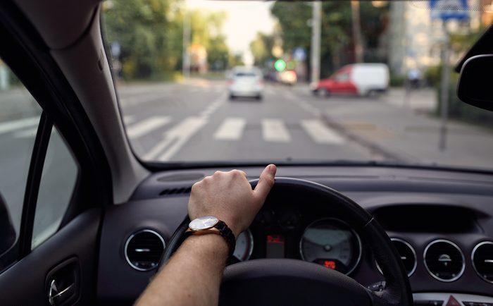 man driving_ stress-free commute