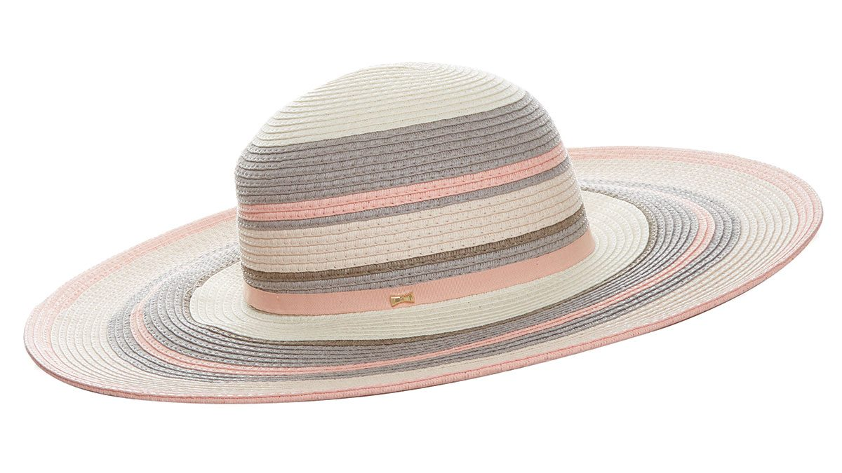 how to wear millennial pink, Ted Baker London beach hat