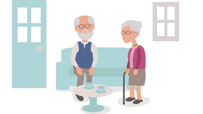 killing your sex life, an illustration of an older couple
