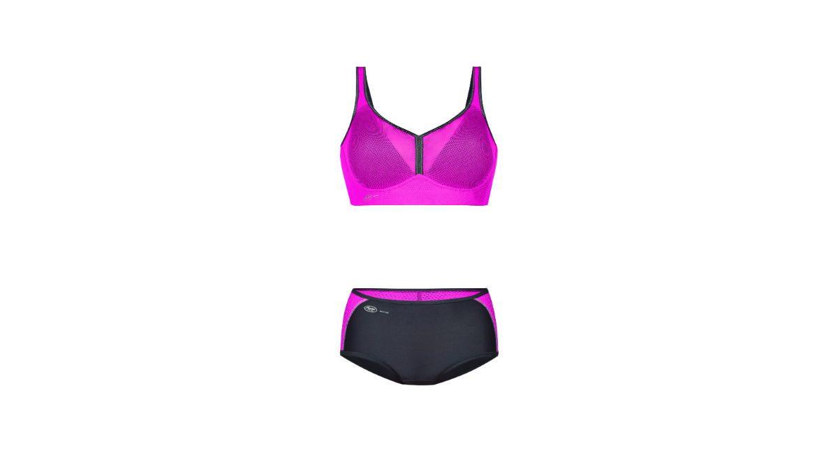 night biking gear, anita sports bra and bottoms
