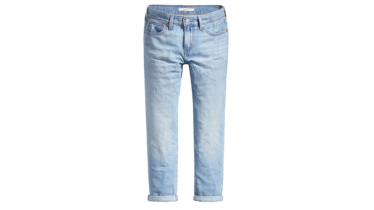 stylish weekend jeans