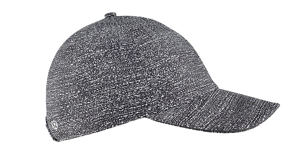 summer layering baseball hat, fashionable heather grey running hat