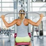Avoid doing lat pull-downs behind the neck