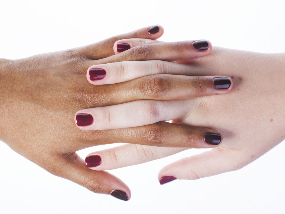 Use softer nail shapes to make your manicure last longer