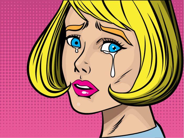 Mood swings are a sign of perimenopause