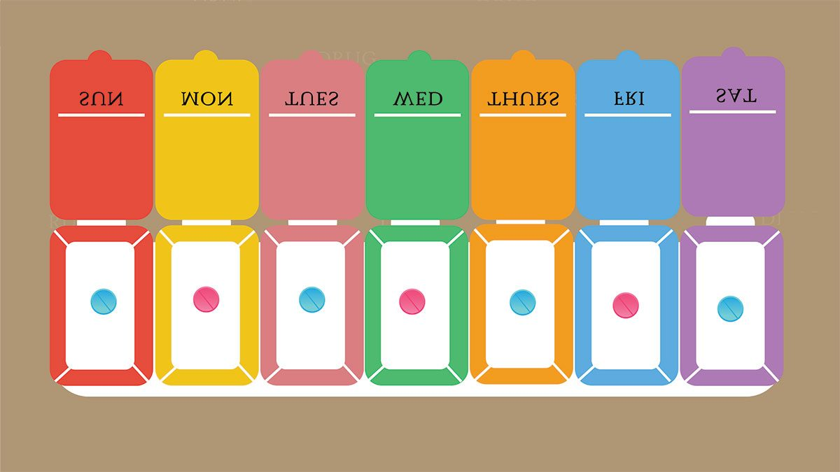 probiotics need to know, antibiotics in a pill organizer