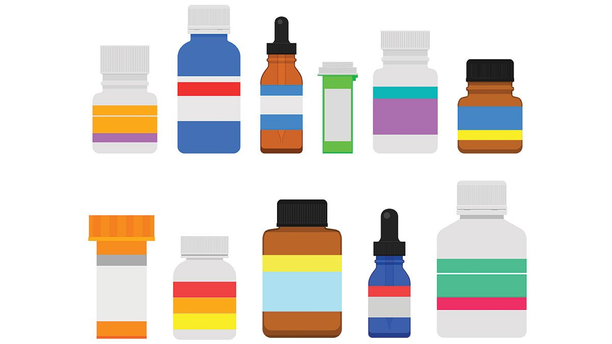probiotics need to know, bottles with blank labels