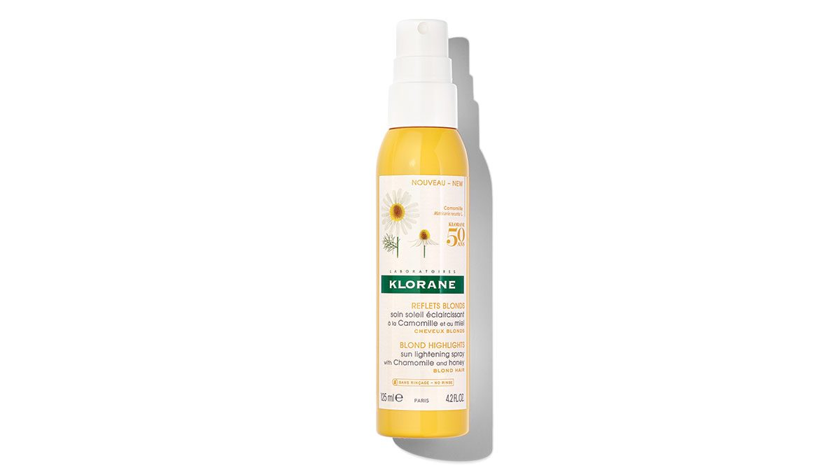 summer shopping, klorane hair lightening spray