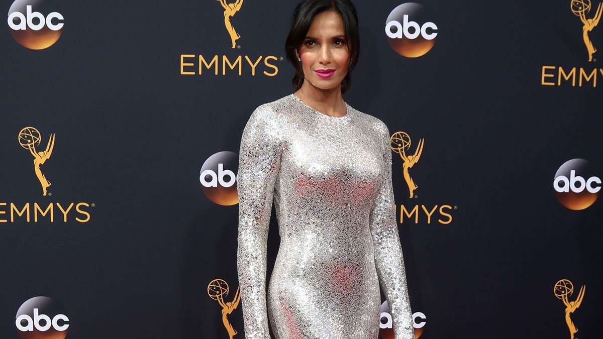 Top Chef Padma Lakshmi on the red carpet