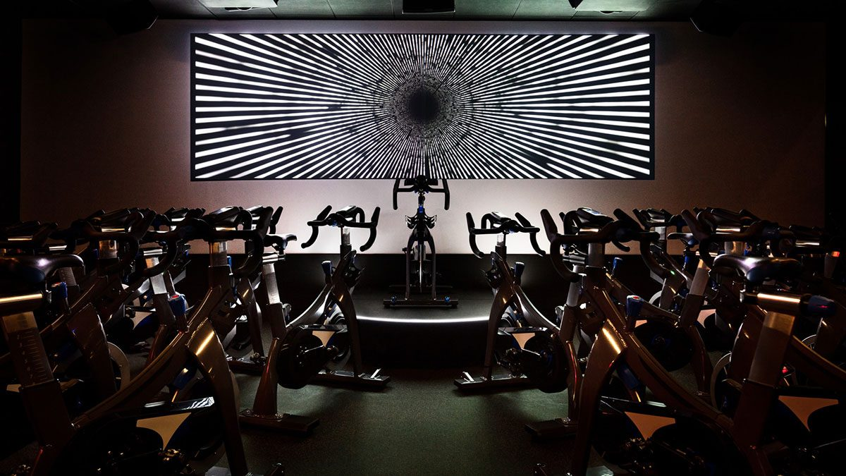 Vancouver fitness classes, equinox spin studio