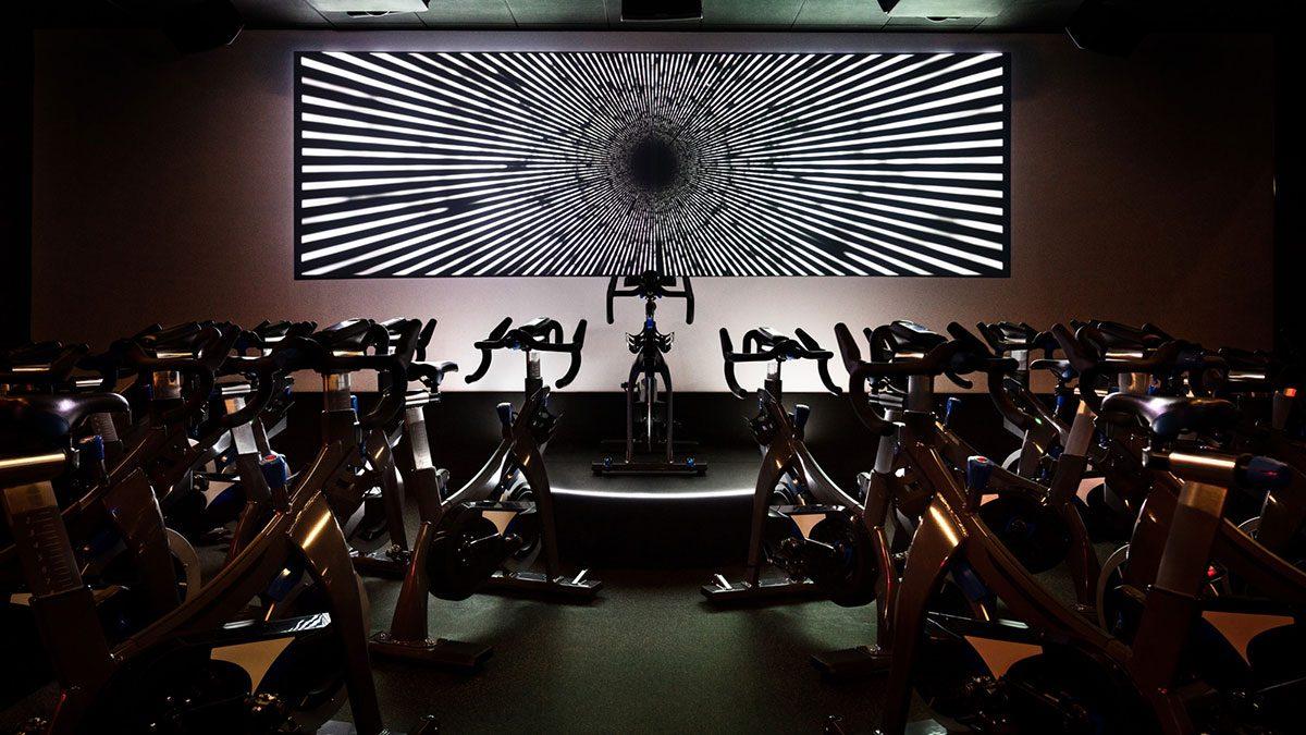 Vancouver fitness classes, equinox spin studio