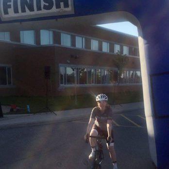 """I Did My First 100K Bike Ride."""