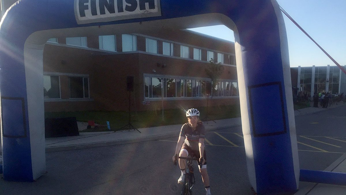my first 100k ride