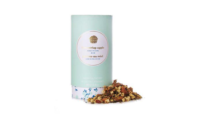 Healthy packaged snacks, Davids Tea in honey crisp