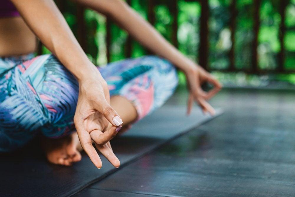 meditation changes your brain_woman meditating