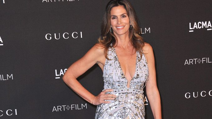 Cindy Crawford Secrets, Cindy Crawford never ages, Cindy on the red carpet