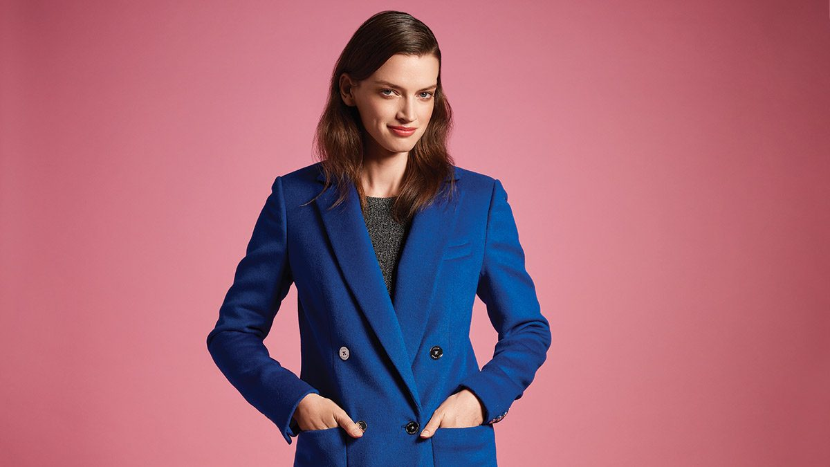 Fall Fashion Trends, Blue Coat
