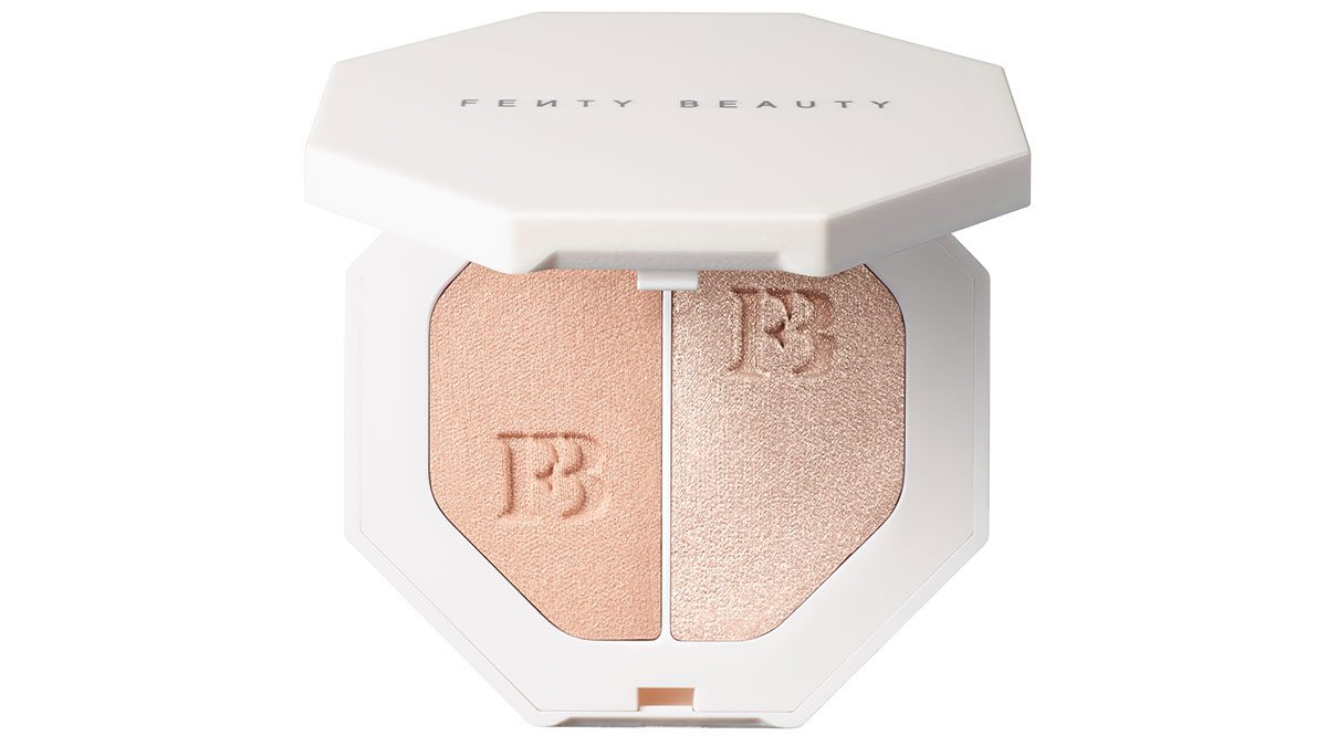 Fenty Beauty by Rihanna Killawatt Freestyle Highlighter in Lightning Dust and Fire Crystal