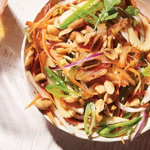 Low Cal: Mexican & Korean Fusion Kimchi Coleslaw