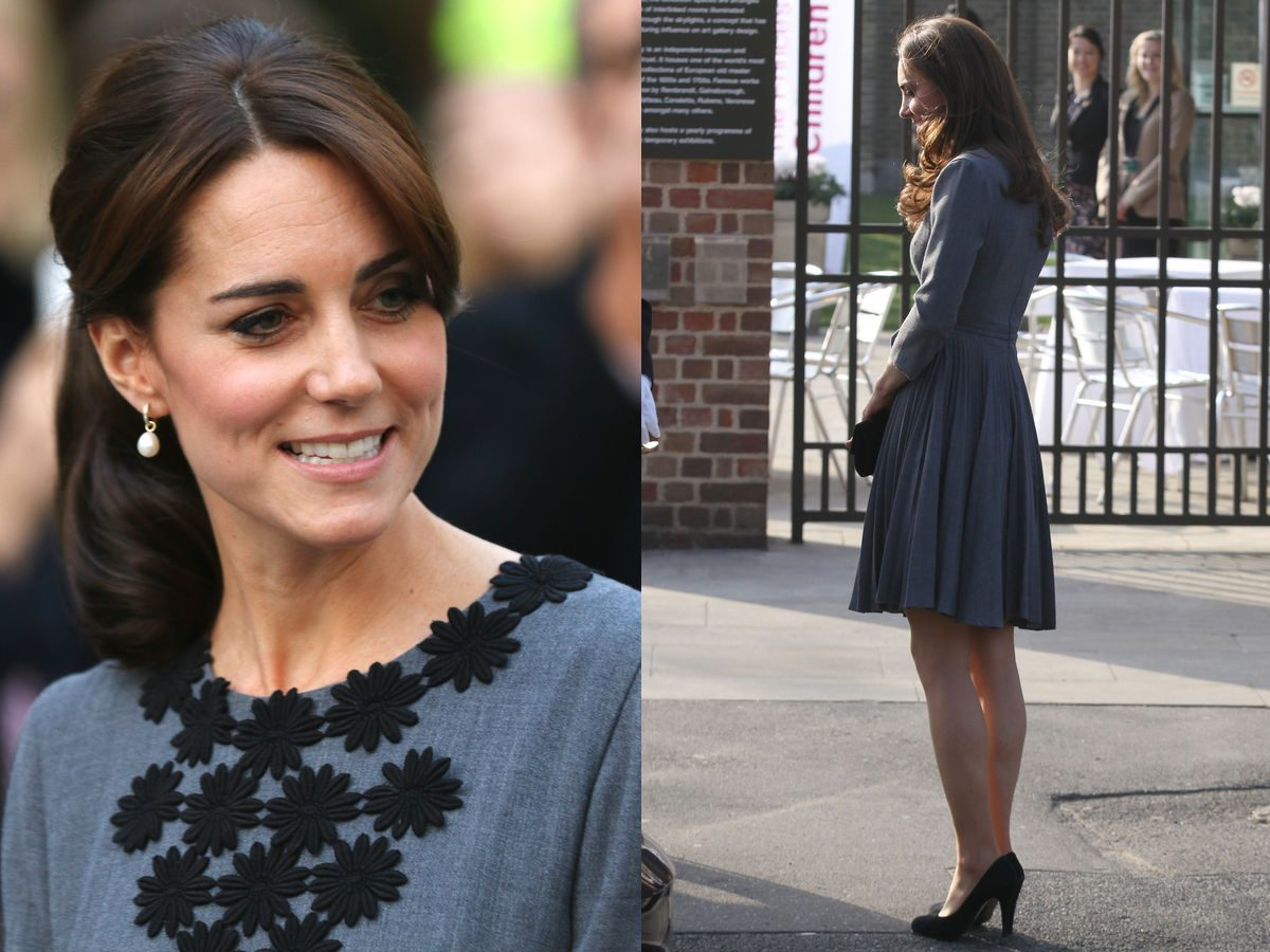 Princess Kate, the Duchess of Cambridge wearing heels