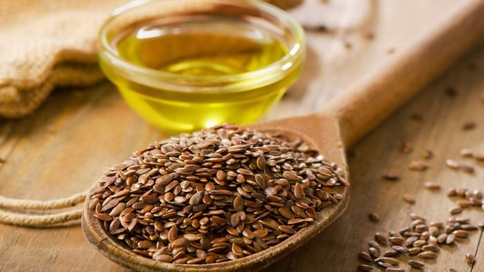 Relieve carpal tunnel, flaxseed oil