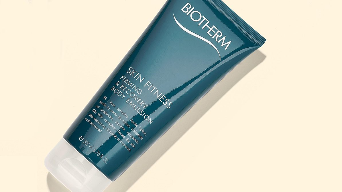 September beauty launches Biotherm Skin Fitness Firming and Recovery Body Emulison