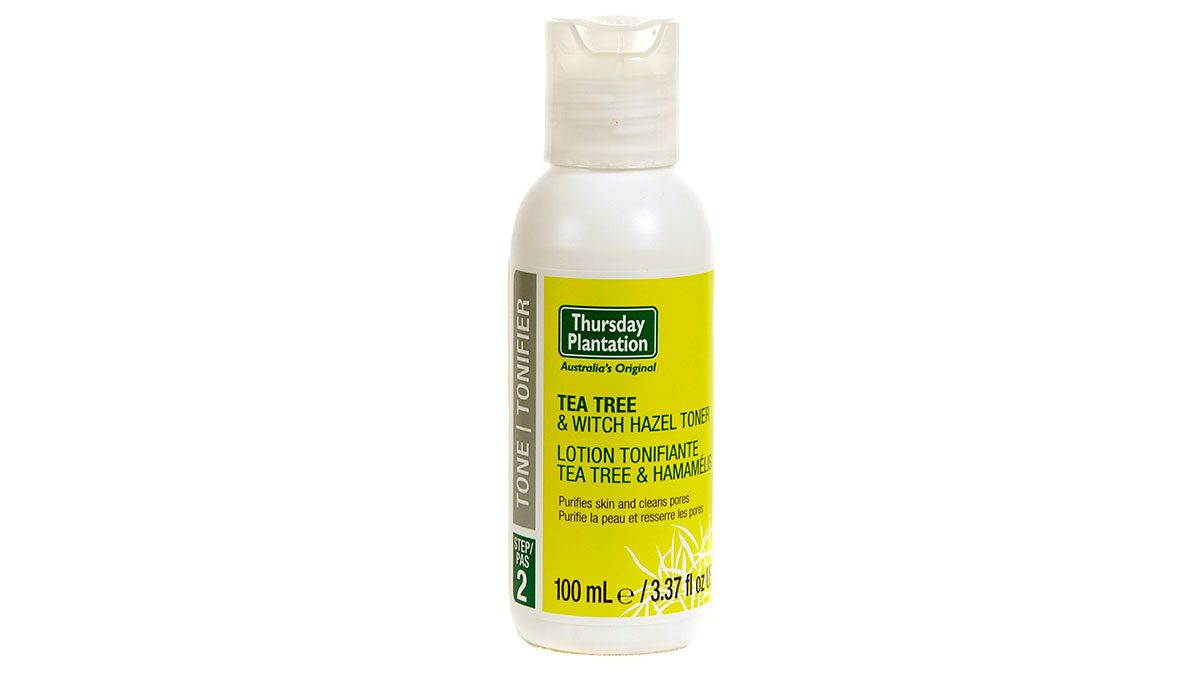 best masks Thursday Plantation Toner