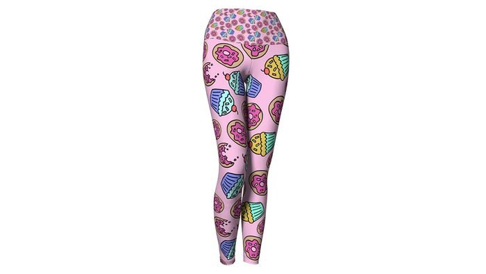 Best birthday gifts, CraftCore cupcake and sprinkles leggings