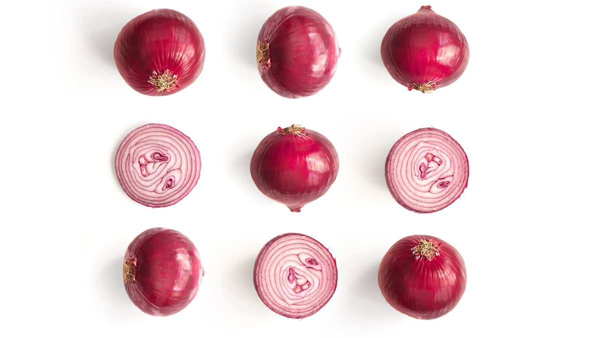 healthiest vegetables onions
