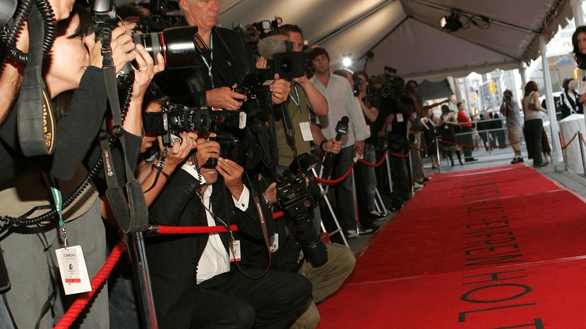 TIFF swag, red carpet at Toronto International Film Festival
