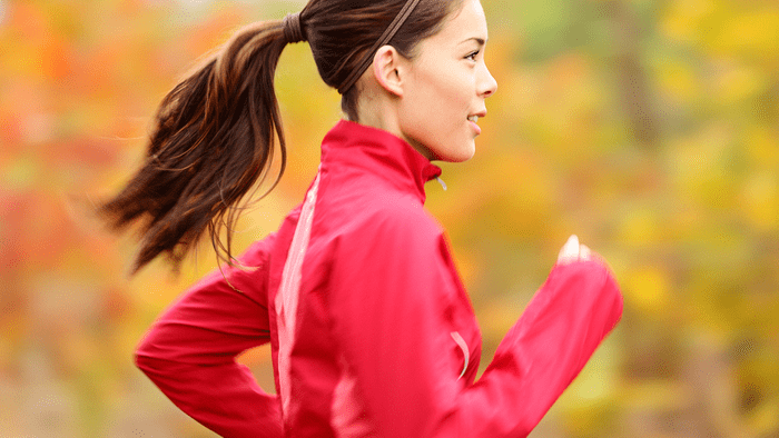 time for running, a woman motivated to run on her own