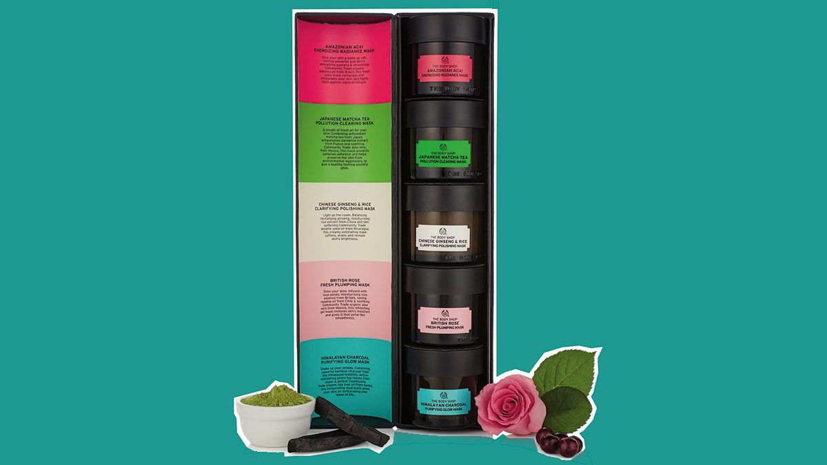 best friend gifts The Body Shop Mask set