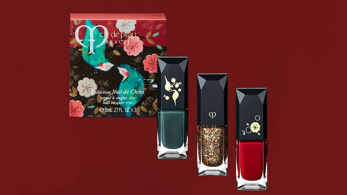best friend gifts Cle De Peau nail set
